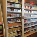 tabak, schap, tankstation, sigaretten