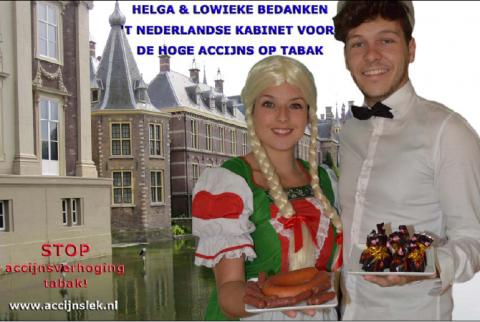 Helga & Lowieke, accijnslek, accijns, alcohol, tabak