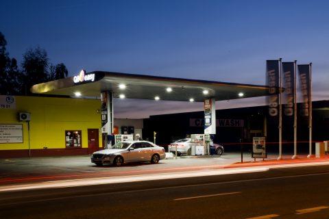 q8, tankstation, LEd-verlichting, Bever Innovations, LED-lampen