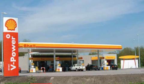 Shell, tankstation, Maarsseveen