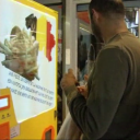 friet-automaat, België, supermarkt