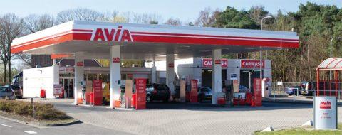 Tankstation, AVIA, benzinepomp