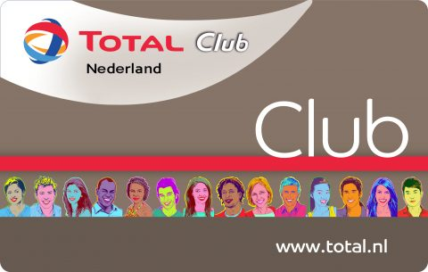 Total, Club, spaarpas, loyaltysysteem, sparen
