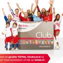 Total Club Card voetbal actie