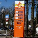 Berkman Ulvenhout prijspaal brandstof