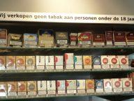 Berkman Ulvenhout tabak leeftijd grens