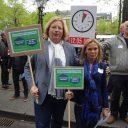 actie grenspomphouders den haag 17 april accijns Lisenka Roger