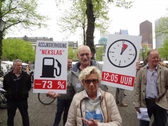 actie grenspomphouders den haag 17 april accijns protesten