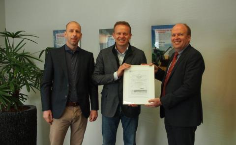 ABC Olie, Tilburg, Geert-Jan van Ierland, certificaat, MVO, prestatieladder