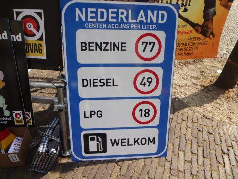 Accijns benzine belgie