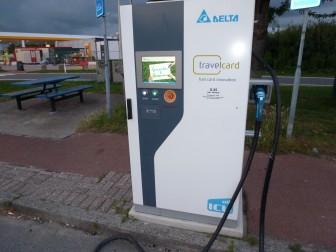 elektrisch voertuig opladen charge travelcard