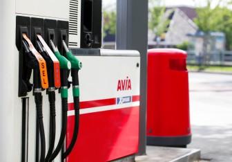Avia brandstof benzine dielse vulpistool