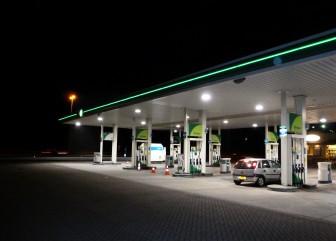 BP tankstation A27