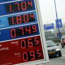 Esso snelweg prijzen prijsbord