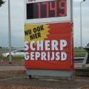 Shell scherp geprijsd aan de snelweg