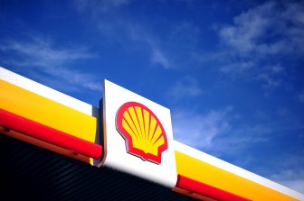 Shell logo tankstation 4