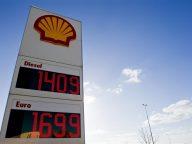 Shell prijzen prijsbord logo