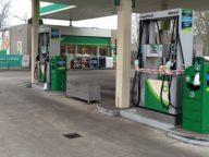 BP tankstation Dongen afgezet