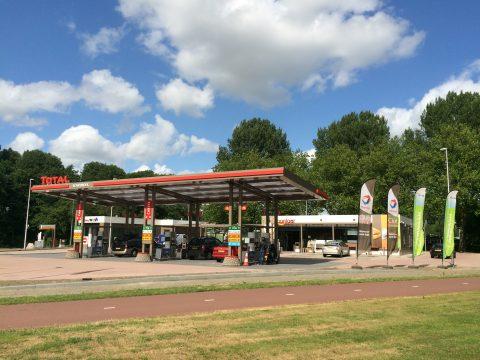 total, tankstation, Rotterdam