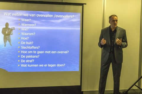 Veiligheidsexpert Godfried Hendriks