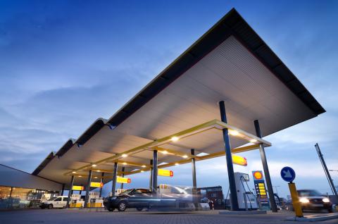 Shell, tankstation, nesselande, rotterdam, van der knaap