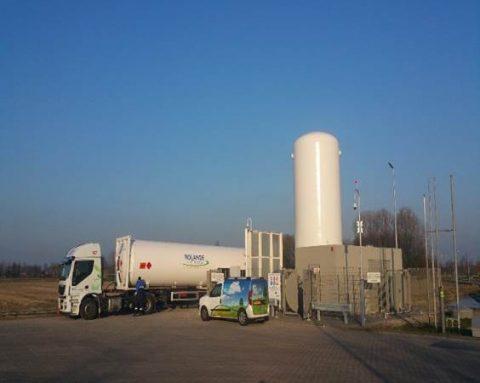 LNG-tankstation Rolande Geldermalsen