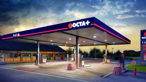 OCTA+, tankstation