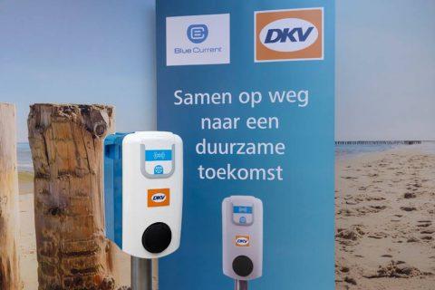 Samenwerking DKV en Blue current laadpalen