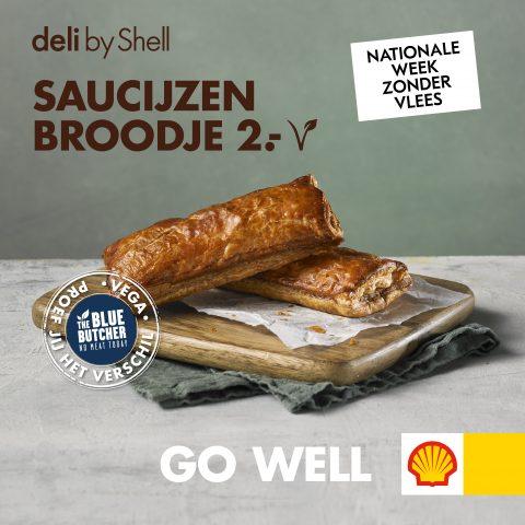 Saucijzenbroodje Shell