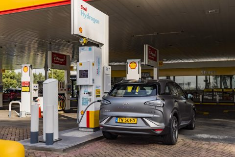 Samenwerking Shell en Hyundai