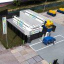 Hysolar waterstoftankstation Nieuwegein impressie
