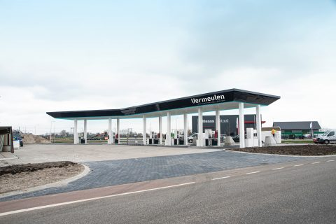 Vermeulen tankstation IJsselmuiden