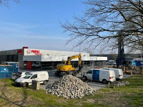 Berkman tankstation Oud-Beijerland