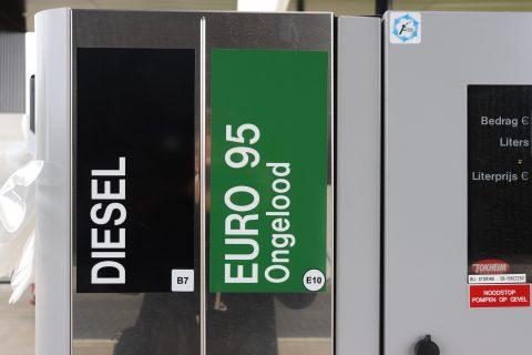Benzinepomp tankstation AgriSnellaad