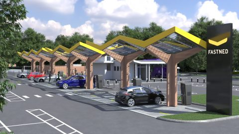 Fastned laadstation Oxford