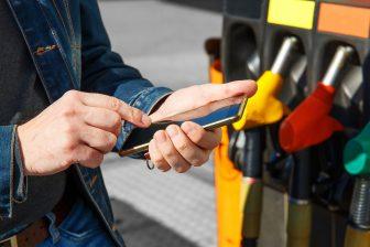 MultiTankcard in-app betalen pomp