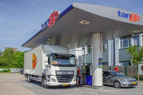 Tango-tankstation Leiderdorp HVO100
