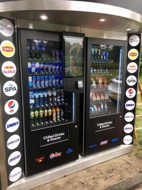 De Haan vendingmachine