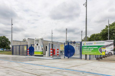 Waterstoftankstation Hysolar Nieuwegein
