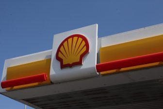 Shell logo tankstation