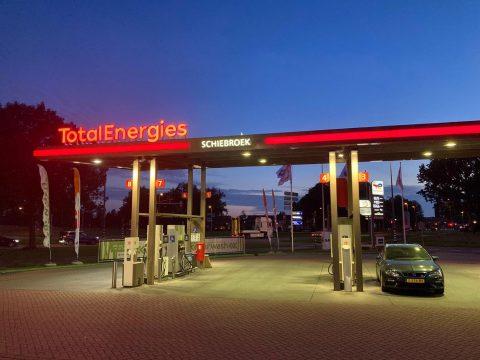 TotalEnergies Schiebroek omkleuring