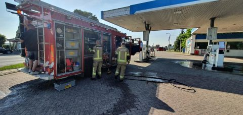 Brandweer Sluis Tamoil lekkage