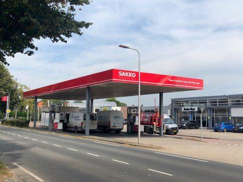 Sakko tankstation Steenbergen