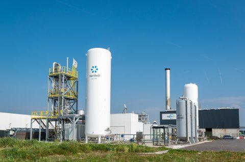 bio-LNG fabriek Amsterdam