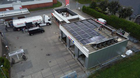 HOS Oil zonnepanelen